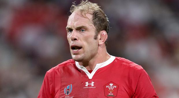 Alun Wyn Jones discussed the intensity of Wales training (David Davies/PA)