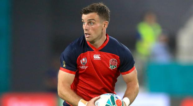 George Ford has called on England to be 'whiter than white' at Japan 2019 (Adam Davy/PA)