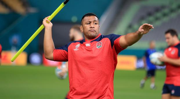 England's Mako Vunipola will take to the pitch against Los Pumas (Adam Davy/PA)