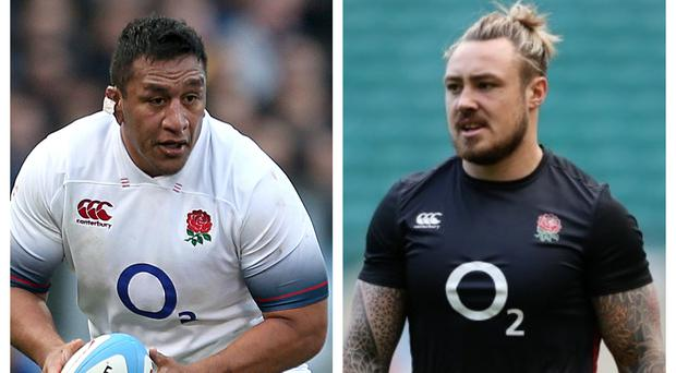 England duo Billy Vunipola and Jack Nowell have been battling against injury (Steven Paston/Adam Davy/PA)