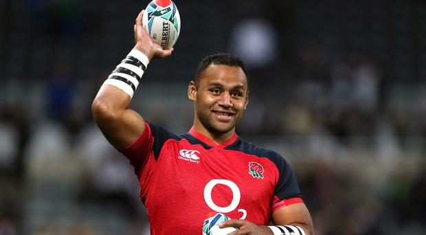 Billy Vunipola has an ankle injury (Richard Sellers/PA)