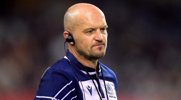 Gregor Townsend has put faith in his second string (Adam Davy/PA)