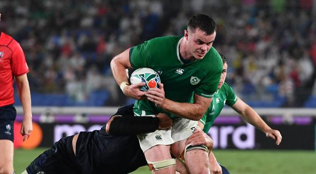 James Ryan has been tipped to become a true Ireland great (Ashley Western/PA)