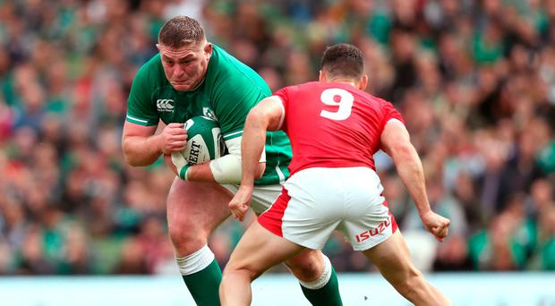 Knuckling down: Tadhg Furlong is confident Ireland will click