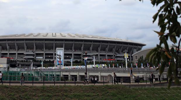 Yokohama is one of the venues affected as extreme weather forces World Cup cancellations (Adam Davy/PA)