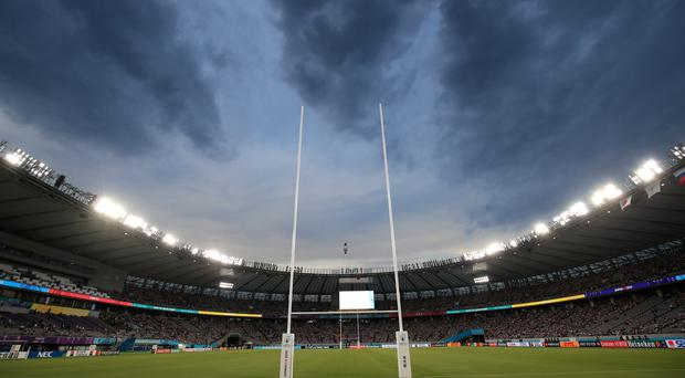 Tokyo Stadium will be empty on Saturday with New Zealand and Italy's game cancelled due to Super Typhoon Hagibis (Adam Davy/PA)