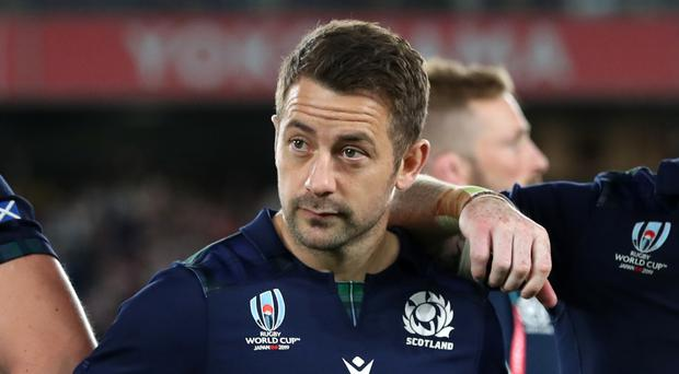 Greig Laidlaw was part of the team beaten by Japan on Sunday (David Davies/PA)