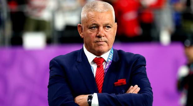 Warren Gatland was in charge of Wales' semi-final against France (David Davies/PA)