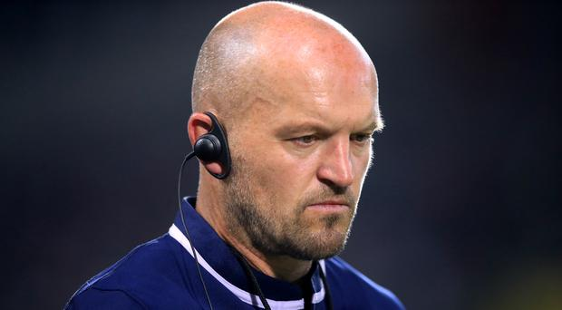 Gregor Townsend's men were eliminated from Pool A (Adam Davy/PA)