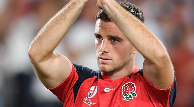 George Ford has been dropped to the bench for England's World cup quarter-final against Australia (Ashley Western/PA)