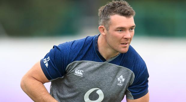 Peter O'Mahony has won the battle to start against New Zealand (Adam Davy/PA)
