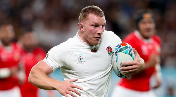 Sam Underhill is relishing the chance to take on the feared 'Pooper' combination against Australia (David Davies/PA)
