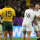 Owen Farrell's kicking helped England see off the Wallabies. (Ashley Western/PA)