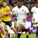 Kyle Sinckler stormed over for England's crucial third try after the Wallabies had clawed their way back to within one point.