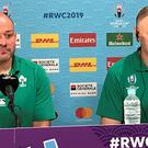 Luke McGrath does not think defeat to New Zealand will taint the legacy of Joe Schmidt and Rory Best (Andy Newport/PA)