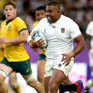 Kyle Sinckler starred as England won their quarter-final with Australia (David Davies/PA)