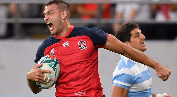 Jonny May has a minor hamstring issue (Ashley Western/PA)