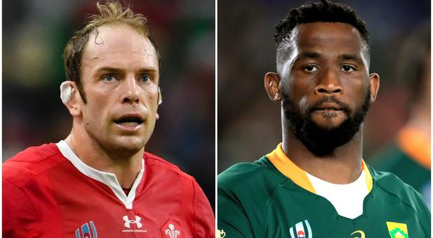 Wales face South Africa in the World Cup semi-finals (Ashley Western/Adam Davy/PA)