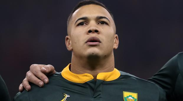 Cheslin Kolbe will not face Wales (David Davies/PA)