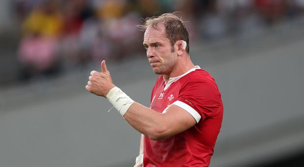 Wales' Alun Wyn Jones has been tipped to lift the Rugby World Cup (David Davies/PA)