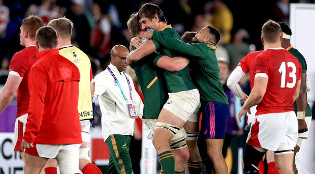 South Africa edged a tight contest (Adam Davy/PA)