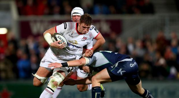 Proving himself: Matty Rea has caught the eye in Ulster's back row having started every game so far this season