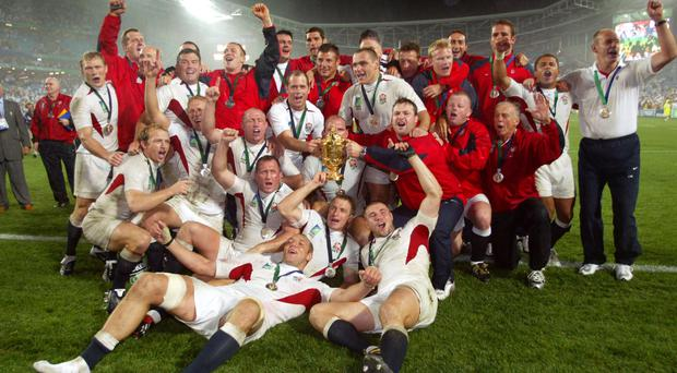 England won the World Cup in 2003 (PA)