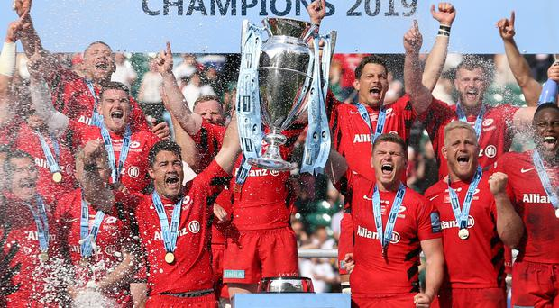 Saracens docked 35 points and fined £5m for salary cap breaches