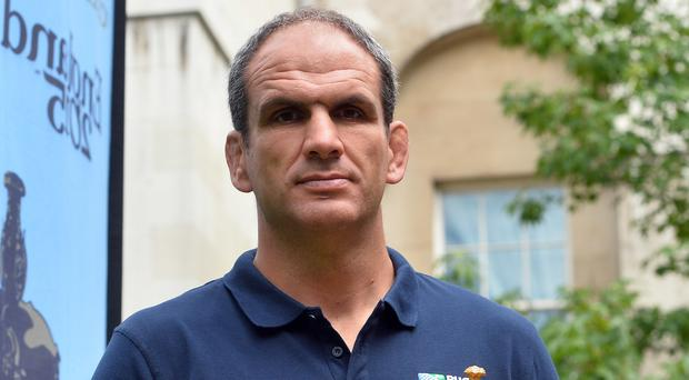 Martin Johnson was England captain when they won the Rugby World Cup in 2003 (Hannah McKay/England Rugby 2015/PA)
