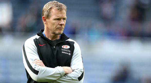 Mark McCall said the priority for Saracens this season was to avoid relegation (Richard Sellers/PA).