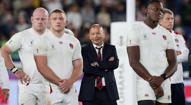 Eddie Jones' England were beaten in the World Cup final (David Davies/PA)