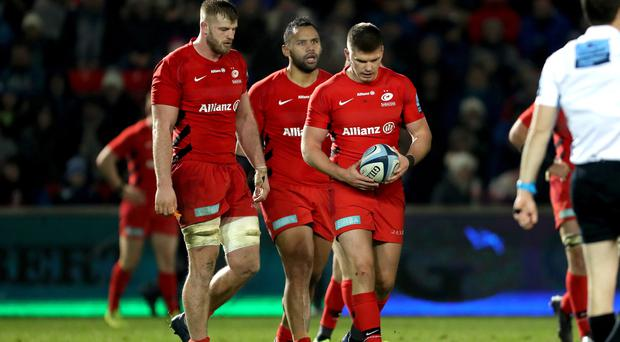 Saracens are not expected to appeal against their punishment from Premiership Rugby (Richard Sellers/PA)