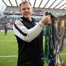 Saracens director of rugby Mark McCall was a no-show for a promotional event ahead of the new Champions Cup campaign (David Davies/PA)