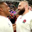 Joe Marler is expected to continue playing alongside Kyle Sinckler (left) for both Harlequins and England (David Davies/PA)