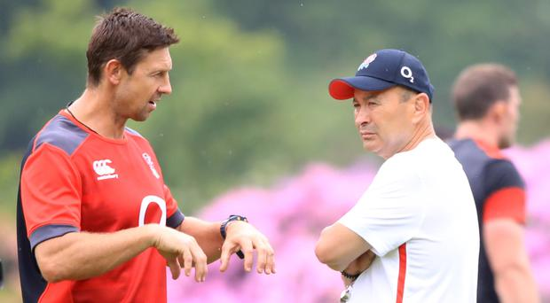 Scott Wisemantel (left) has left the England coaching set up (Adam Davy/PA)