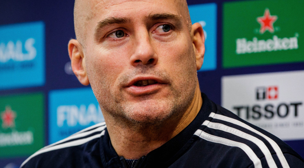 Strong hand: Felipe Contepomi is delighted by Blues' options