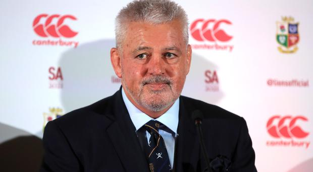 Warren Gatland is concerned over a lack of preparation time for the Lions (Adam Davy/PA)