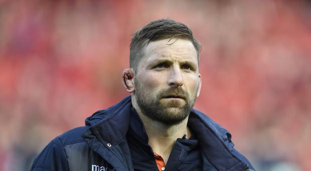 John Barclay has called time on his Scotland career (Ian Rutherford/PA)