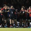 Saracens and Munster players were involved in a mass brawl during Saturday's European Rugby Champions Cup clash at Allianz Park (Adam Davy/PA)