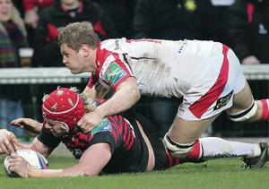 Chris Henry admitted he found watching Saracens seal a Heineken Cup final slot hard to swallow