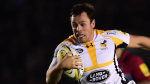 Rob Miller touched down in Wasps' victory