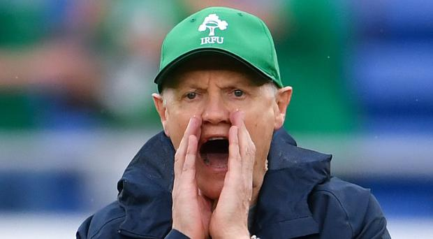 Joe Schmidt's Ireland face Russia on Thursday (Ashley Western/PA)