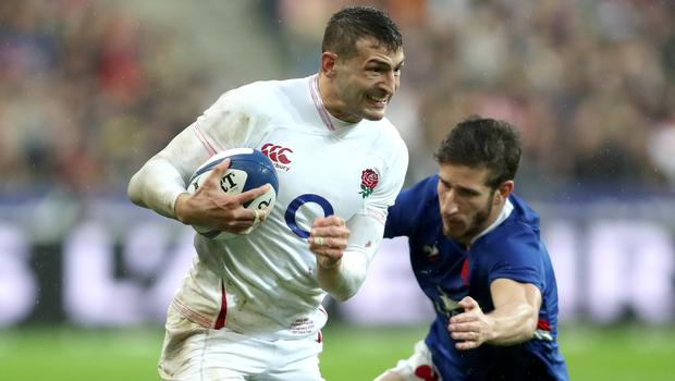 Jonny May is keen for England to bounce back against Scotland (David Davies/PA)
