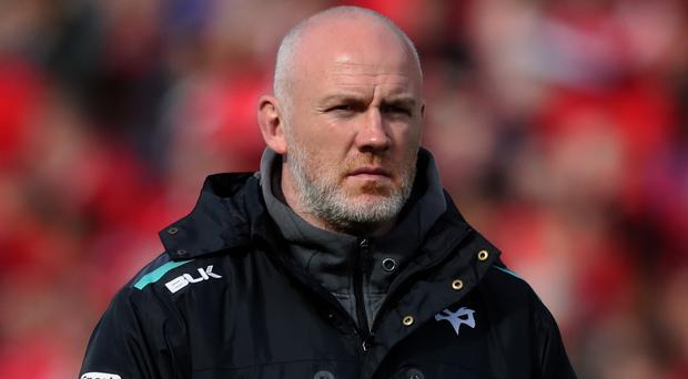 Former Ospreys head coach Steve Tandy has replaced Matt Taylor as Scotland defence coach (Niall Carson/PA)