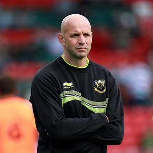 Northampton director of rugby Jim Mallinder is relishing his side's Amlin Challenge Cup semi-final clash with Harlequins