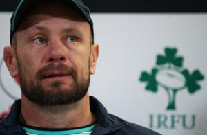 Greg Feek, pictured, insists Jack Carty has already proved his class to Ireland's coaching staff (Brian Lawless/PA)