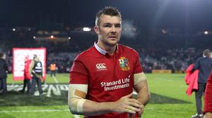 Peter O'Mahony is one of the contenders to captain the British and Irish Lions in their opening Test