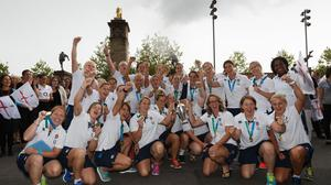 England's women won the Rugby World Cup last year