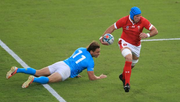 Justin Tipuric captained a much-changed Wales side against Uruguay (Adam Davy/PA)