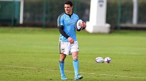 Dan Carter will not be involved when New Zealand tackle England at Twickenham on Saturday